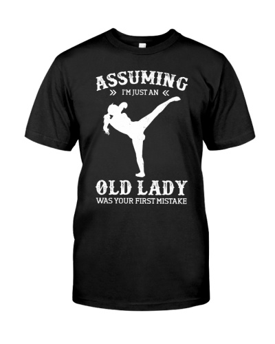 Assuming I'm Just An Old Lady - Kickboxing