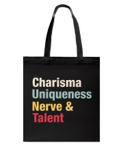 Charisma Uniqueness Nerve Talent Tote Bag thumbnail