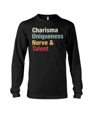 Charisma Uniqueness Nerve Talent Long Sleeve Tee thumbnail
