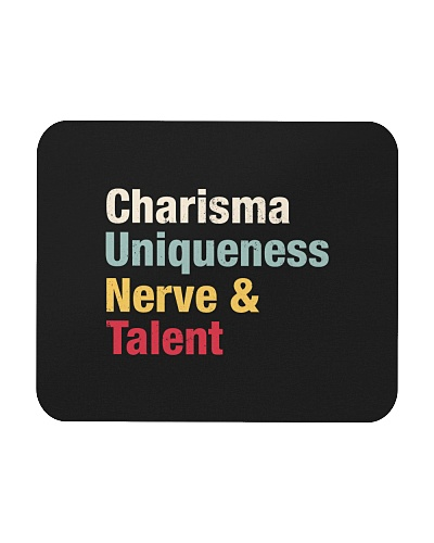 Charisma Uniqueness Nerve Talent