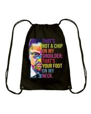 That's Not A Chip On My Shoulder Drawstring Bag thumbnail