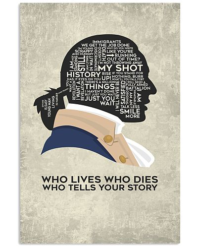 Hamilton - Who Lives Who Dies Who Tells Your Story