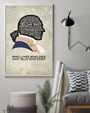 Hamilton - Who Lives Who Dies Who Tells Your Story 11x17 Poster lifestyle-poster-1