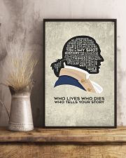 Hamilton - Who Lives Who Dies Who Tells Your Story 11x17 Poster lifestyle-poster-3