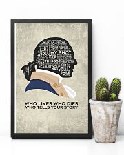 Hamilton - Who Lives Who Dies Who Tells Your Story 11x17 Poster lifestyle-poster-8