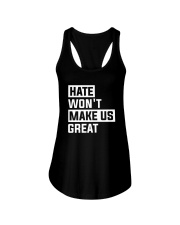Hate Won't Make Us Great Ladies Flowy Tank thumbnail
