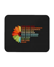 Love Over Hate Sunflower Vintage Mousepad thumbnail