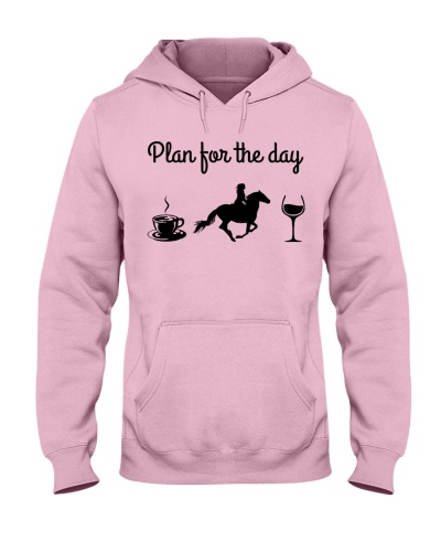 Plan For The Day - Horse