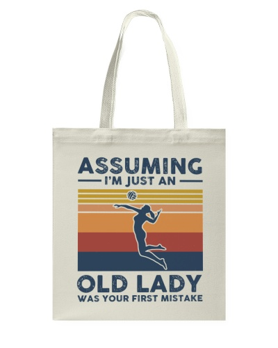 Assuming I'm Just An Old Lady - Volleyball
