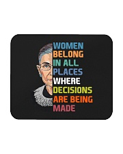RBG Women Belong In All Places  Mousepad thumbnail