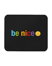 Be Nice Smiley Face Mousepad thumbnail
