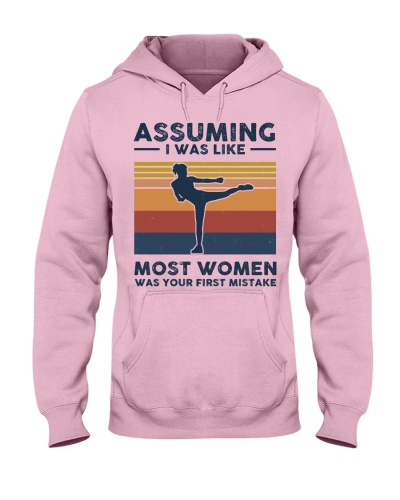Assuming I Was Like Most Women - Krav Maga Retro