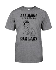 RBG Assuming Old Lady Was Your First Mistake Classic T-Shirt front