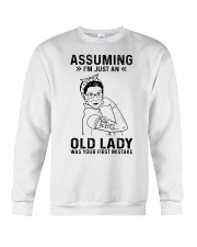 RBG Assuming Old Lady Was Your First Mistake Crewneck Sweatshirt thumbnail