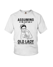 RBG Assuming Old Lady Was Your First Mistake Youth T-Shirt thumbnail