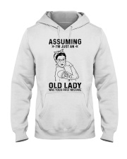 RBG Assuming Old Lady Was Your First Mistake Hooded Sweatshirt thumbnail