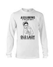 RBG Assuming Old Lady Was Your First Mistake Long Sleeve Tee thumbnail