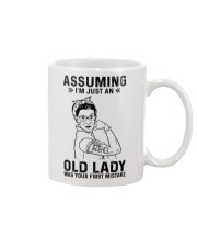 RBG Assuming Old Lady Was Your First Mistake Mug thumbnail
