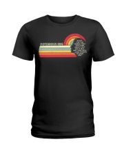 Fight For The Things You Care About Notorious RBG Ladies T-Shirt thumbnail