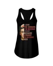 I Love The Woman I've Become Today Ladies Flowy Tank thumbnail