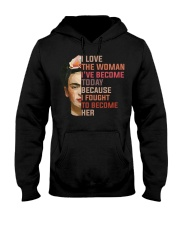 I Love The Woman I've Become Today Hooded Sweatshirt thumbnail