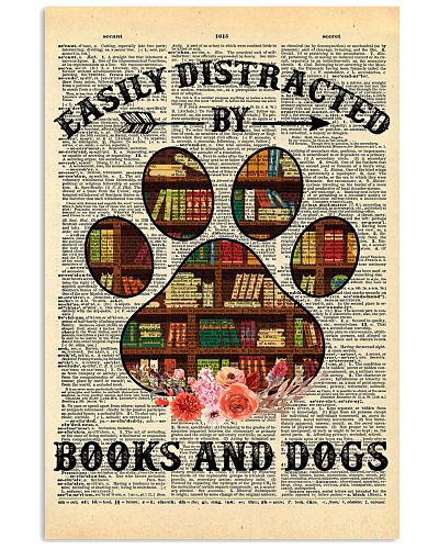 Easily Distracted By Books And Dogs Dictionary