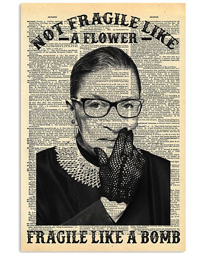 RBG Dictionary Not Fragile Like A Flower