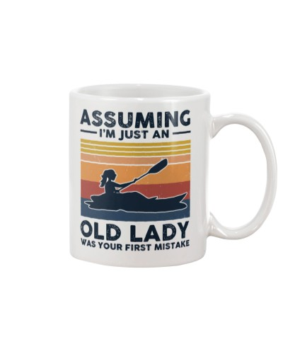 Assuming I'm Just An Old Lady - Kayaking