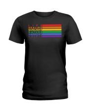 Pride Flag Meaning Ladies T-Shirt thumbnail