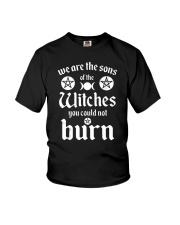 We Are The Sons Of The Witches You Could Not Burn Youth T-Shirt thumbnail