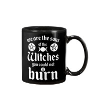 We Are The Sons Of The Witches You Could Not Burn Mug thumbnail