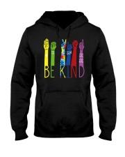 Be Kind Sign Language Color Hooded Sweatshirt thumbnail