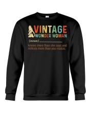 Vintage Wonder Woman Crewneck Sweatshirt thumbnail