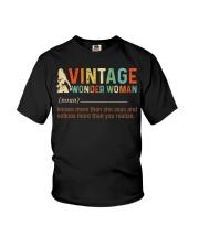 Vintage Wonder Woman Youth T-Shirt thumbnail