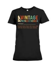 Vintage Wonder Woman Premium Fit Ladies Tee thumbnail