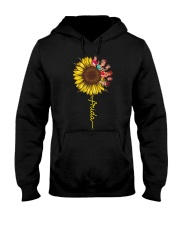 Frida Kahlo Sunflower Hooded Sweatshirt thumbnail