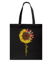 Frida Kahlo Sunflower Tote Bag thumbnail