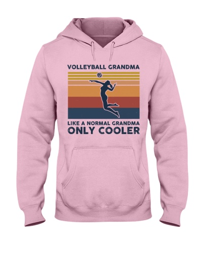 Volleyball Grandma Retro