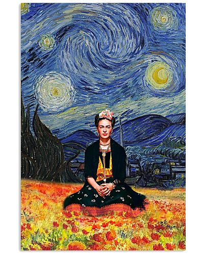 Starry Night Frida Flower Field