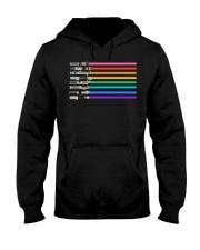 LGBT Pride Lightsaber - Star Gay Hooded Sweatshirt thumbnail