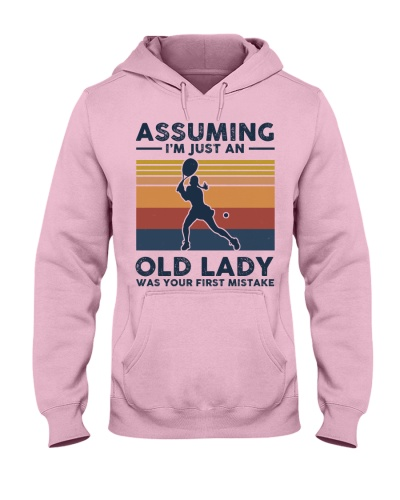 Assuming I'm Just An Old Lady - Tennis