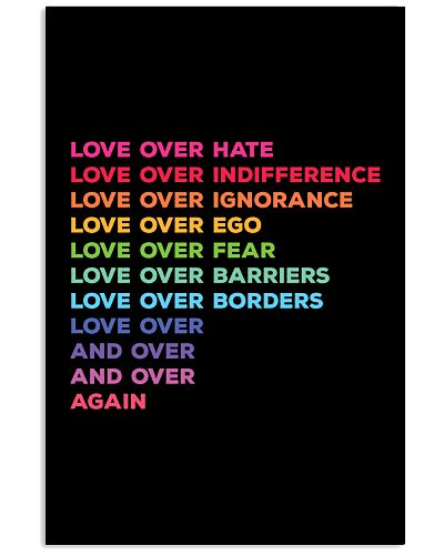 Love Over Hate Love Over Again