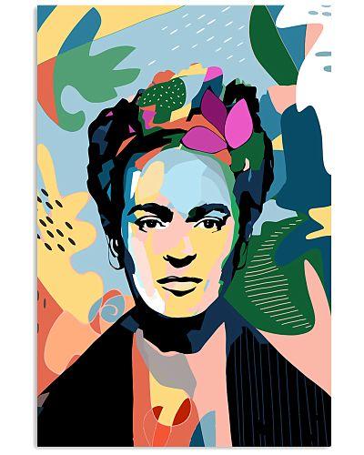 Frida Kahlo Abstract Illustration