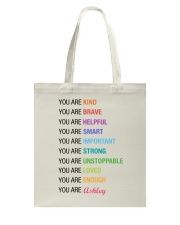 You Are Kind Personalized Tote Bag thumbnail