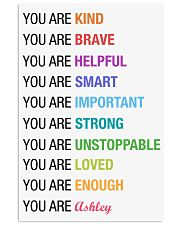 You Are Kind Personalized 11x17 Poster front