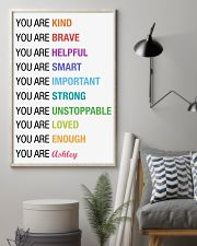 You Are Kind Personalized 11x17 Poster lifestyle-poster-1