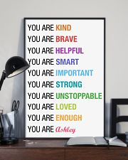 You Are Kind Personalized 11x17 Poster lifestyle-poster-2