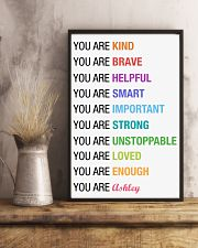 You Are Kind Personalized 11x17 Poster lifestyle-poster-3