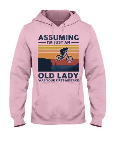 Assuming I'm Just An Old Lady - Mountain Biking