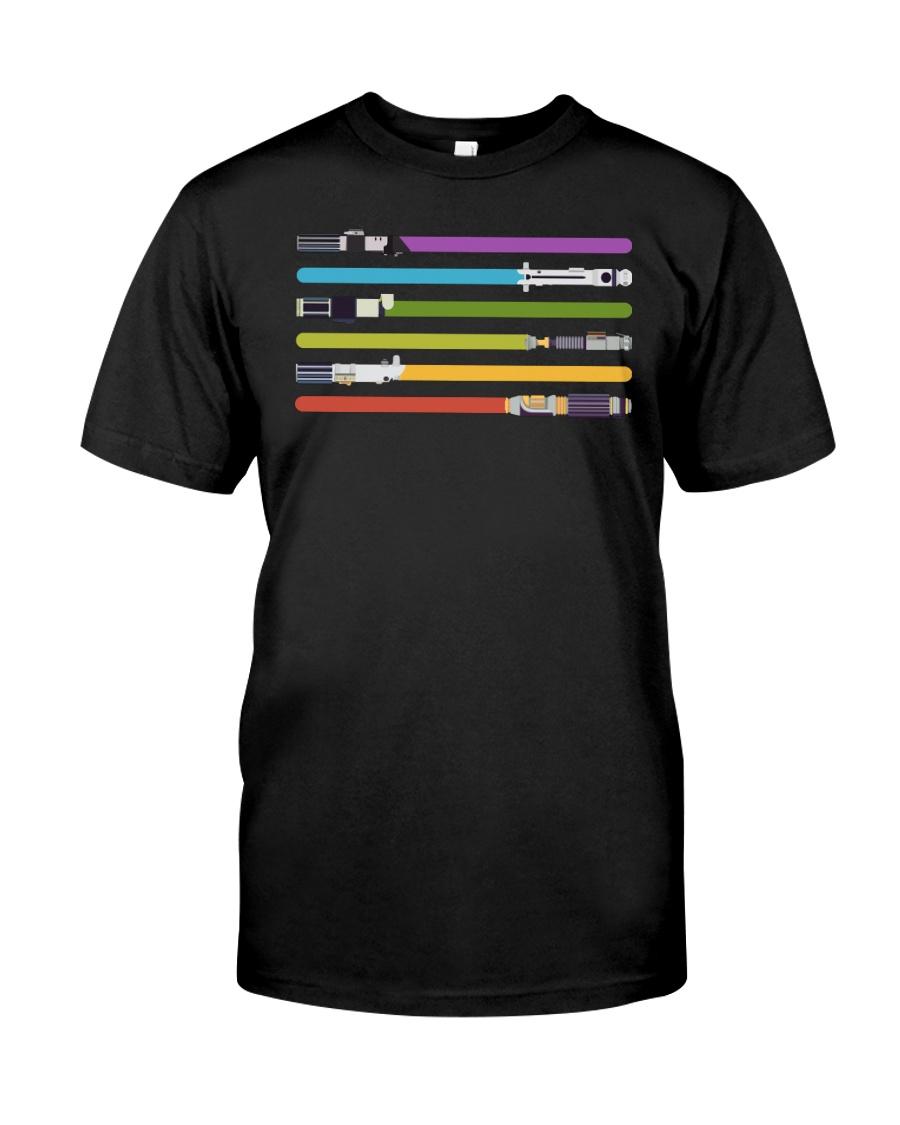 LGBT Lightsaber Classic T-Shirt